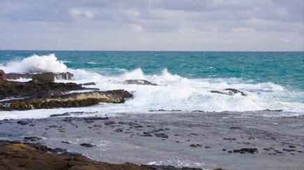 Curio Bay waves