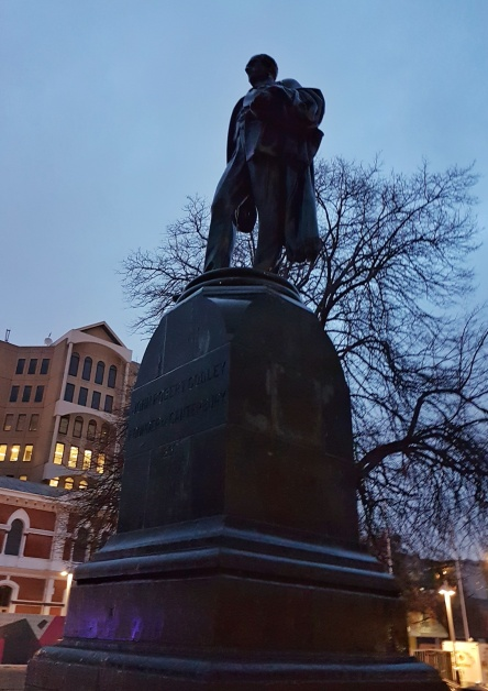 The Godley Statue