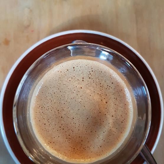 A fat black from C1 Espresso