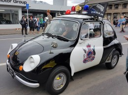 Fiat Police car