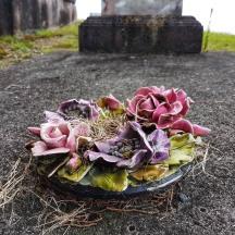 Ceramic wreath